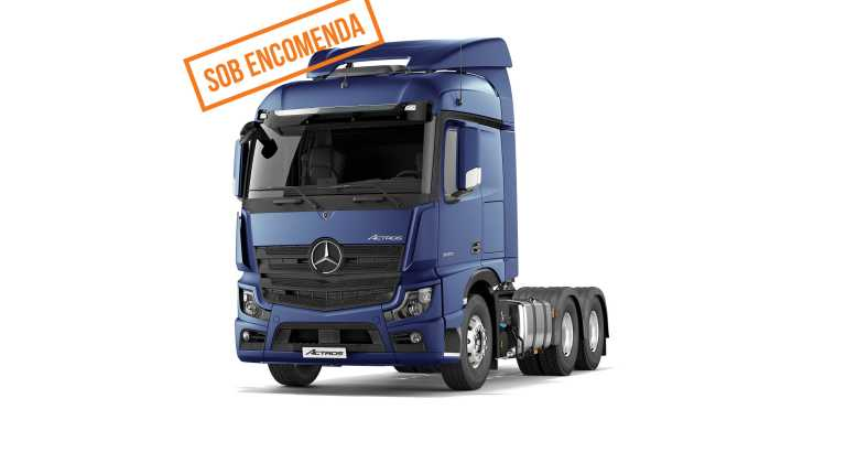 Mercedes-Benz Actros 2653 MP5 LS 6X4 2020