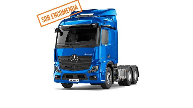 Mercedes-Benz Actros 2648 MP LS 6X4 2020