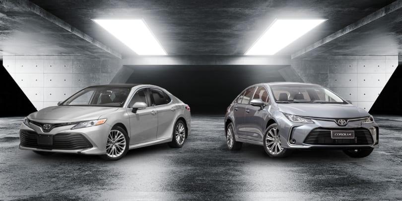 Comparativo: vale gastar o dobro de um Toyota Corolla em um Camry?