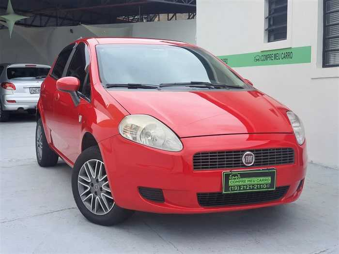 Fiat Punto Attractive 1.4 (Flex) 2012