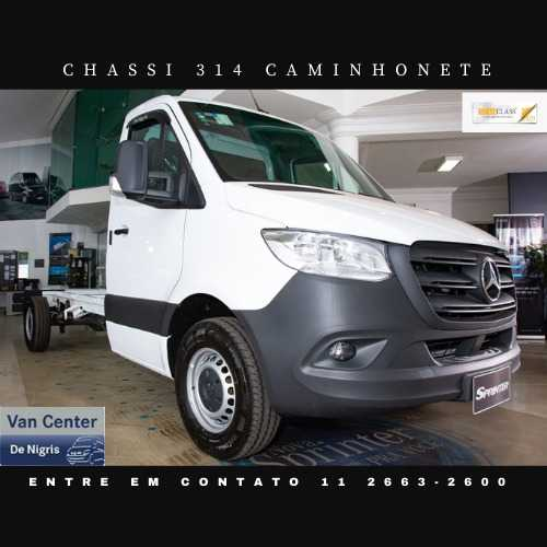 Mercedes-Benz Sprinter CHASSI 314 CDI STREET C33B UP1 2021